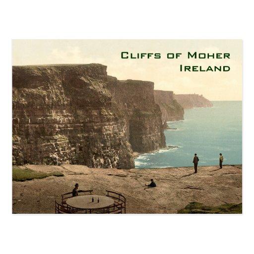 Cliffs of Moher Irish Music Jig Postcard