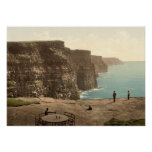 Cliffs of Moher on Atlantic Coast Ireland Poster