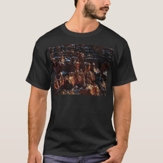cliffs of the red rock of snow T-Shirt