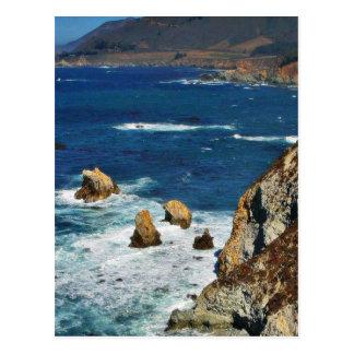 Cliffs On See Postcard