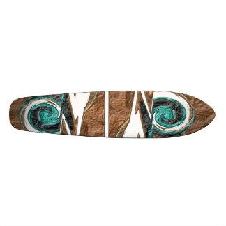 """""""Cliffs water spiral"""" skateboard"""