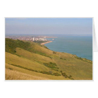 Clifftop View Greeting Card