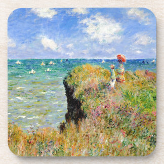Clifftop Walk at Pourville - Claude Monet Coaster