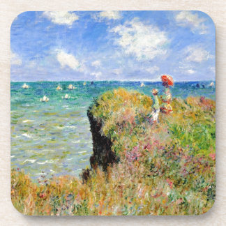 Clifftop Walk at Pourville - Claude Monet Coaster