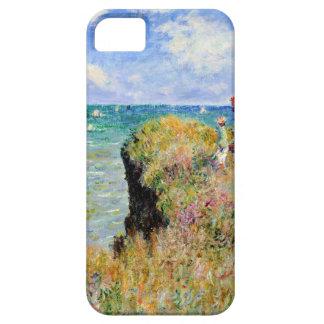 Clifftop Walk at Pourville - Claude Monet iPhone 5 Cases