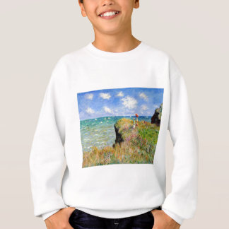 Clifftop Walk at Pourville - Claude Monet Sweatshirt