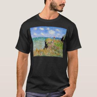 Clifftop Walk at Pourville - Claude Monet T-Shirt