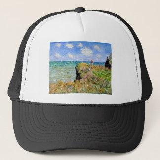 Clifftop Walk at Pourville - Claude Monet Trucker Hat