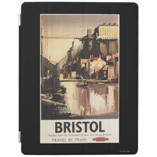 Clifton Suspension Bridge and Boats iPad Cover
