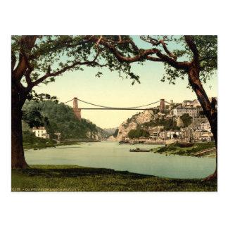 Clifton Suspension Bridge I, Bristol, England Postcard