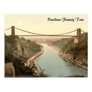 Clifton Suspension Bridge II Bristol England Postcards