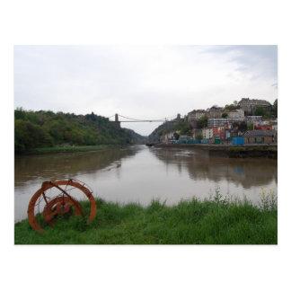 Clifton Suspension Bridge Postcard
