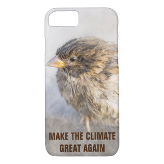 Climate change awareness iPhone 7 case