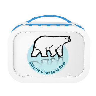 Climate Change is Real Lunch Box