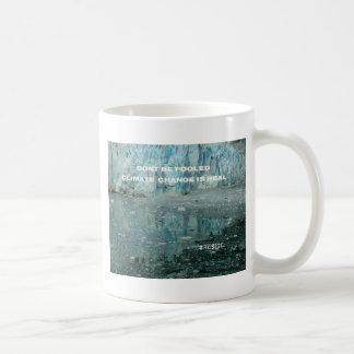Climate Change Is Real Melting Glacier Coffee Mug
