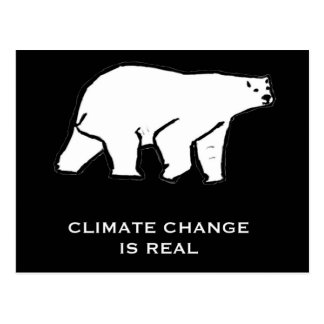Climate Change is Real Postcard