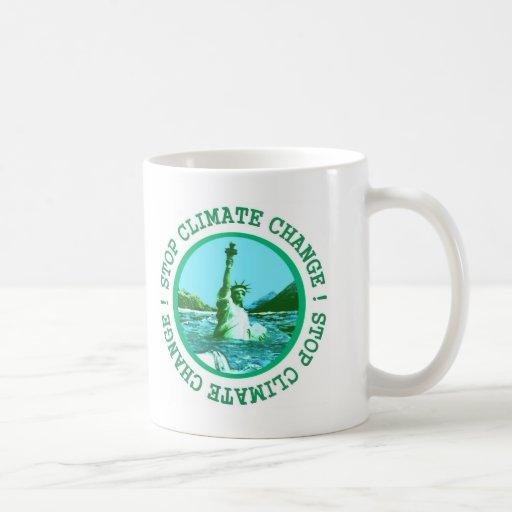 Climate Change Coffee Mugs