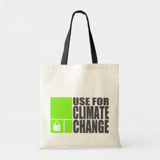 Climate Change Tote Bag