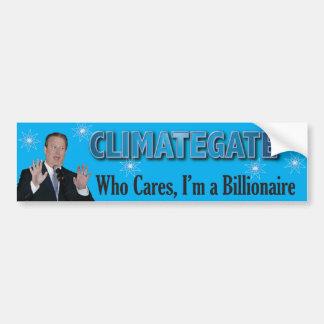 Climategate Bump2 Bumper Sticker