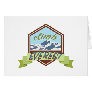 Climb Everest Card