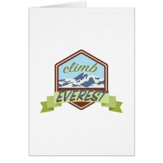 Climb Everest Card
