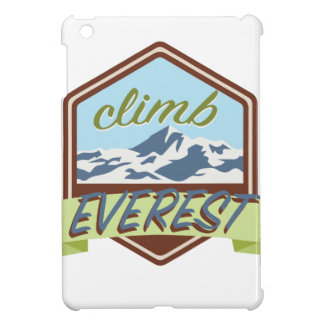Climb Everest iPad Mini Covers