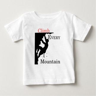 Climb Every Mountain Baby T-Shirt
