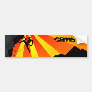 climb it bumper sticker