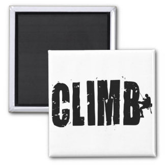 Climb Square Magnet