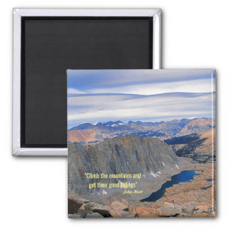 Climb the Mountains Magnet