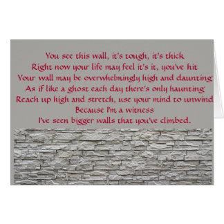 Climb Your Walll Card