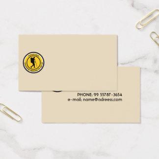 Climber Business Card