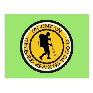 Climber Postcard