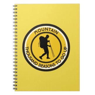 Climber Spiral Notebook