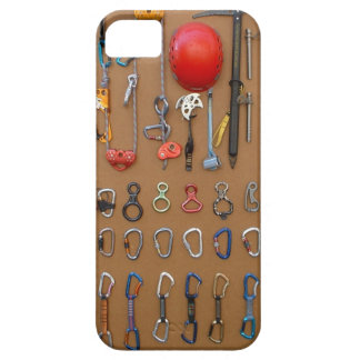 Climber's Equipment -- Mountain Climbing Gear iPhone 5 Cover
