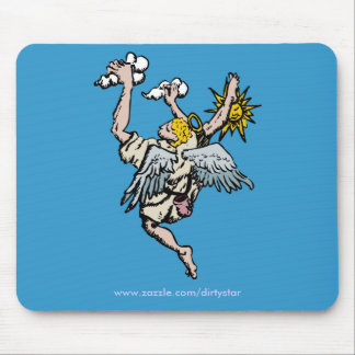 Climbing Angel Mouse Pad