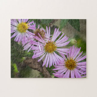 Climbing Aster Jigsaw Puzzle