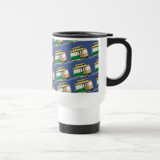 Climbing Cable Cars Travel Mug