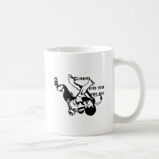 Climbing Coffee Mug