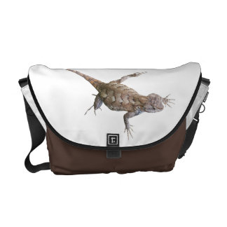 Climbing Eastern Fence Lizards Courier Bags