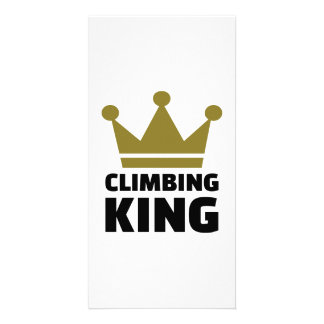 Climbing King Picture Card