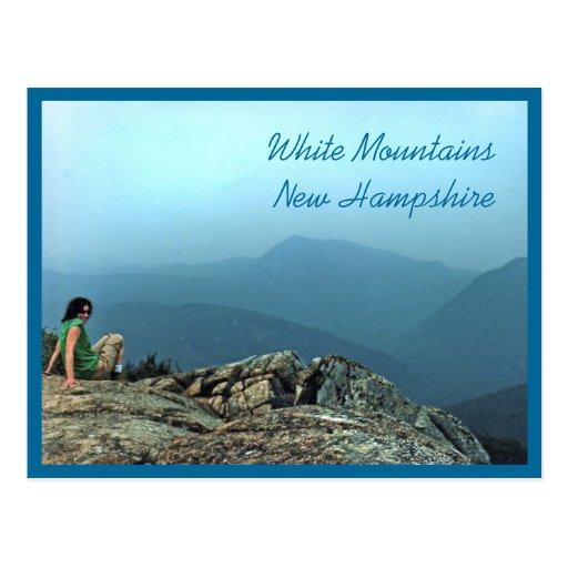 Climbing Mt. Crawford Postcard