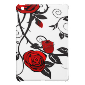 Climbing Red Roses Cover For The iPad Mini