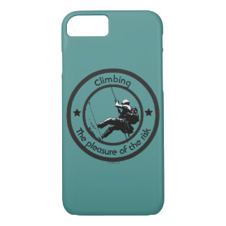 Climbing, Risk pleasure iPhone 8/7 Case