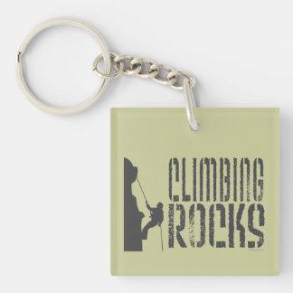 Climbing Rocks Key Ring