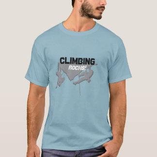 Climbing Rocks tshirt