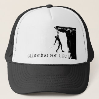 Climbing will be Life Trucker Hat