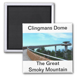 Clingmans Dome: The Smoky Mountain Refrigerator Magnets