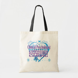 Clinical Psychologist Tote Bags