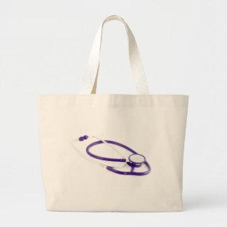 Clinical Stethoscope Jumbo Tote Bag